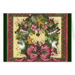Gingerbread Wreath Card
