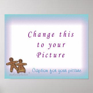GingerbreadFamilyPrint-customize Poster