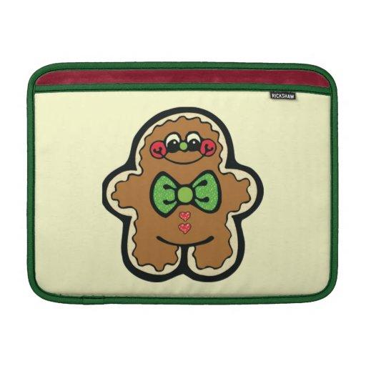 gingerbreadman 001PR CUTE COOKIES WINTER FOODS TRE Sleeve For MacBook Air