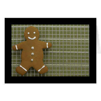Gingerbreadman Card