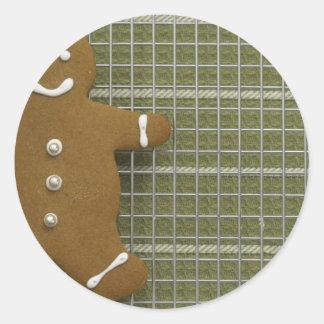 Gingerbreadman Classic Round Sticker