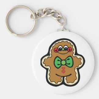 gingerbreadman lindo llavero personalizado