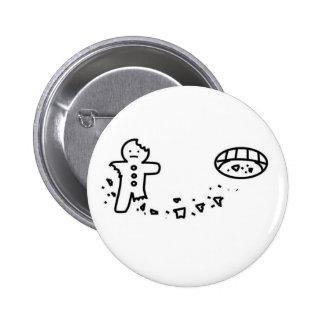 gingerbreadman pin