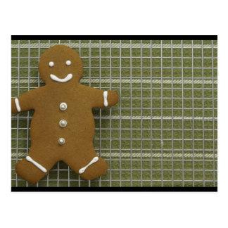 Gingerbreadman Postcard
