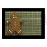 Gingerbreadman Tarjetón