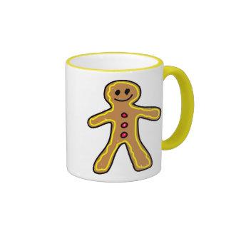 gingerbreadman tazas de café