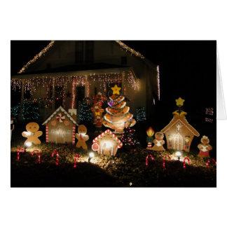 Gingerbreadmen Christmas Card