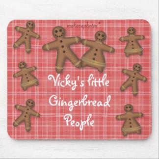 GingerbreadPeopleMousepad-customize Mouse Pad