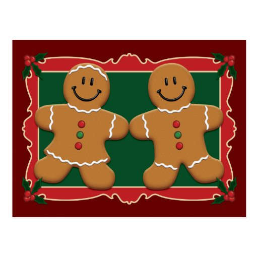 Gingerbreads Post Card