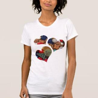 Gingergread Men Hearts T-Shirt