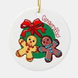 Gingeriffic Ornamento De Navidad