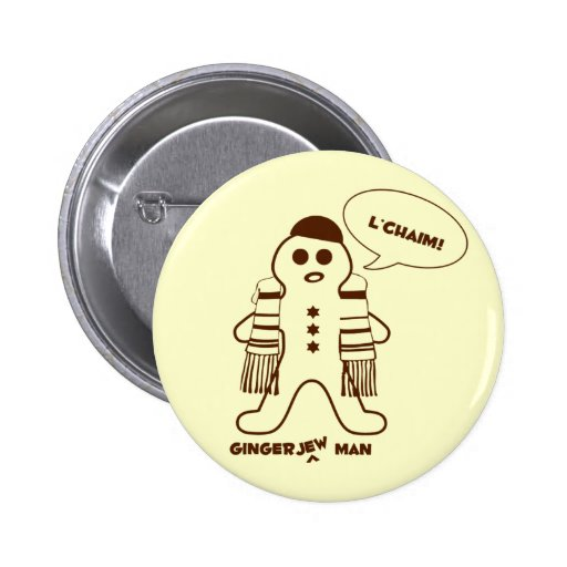Gingerjew Man Buttons