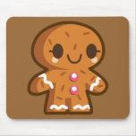gingerman-162141 gingerman biscuit gingerbread han mouse pad