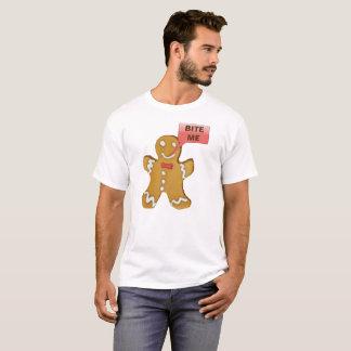 Gingerman Christmas Funny Tee