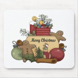 Gingerman Christmas Mousepads