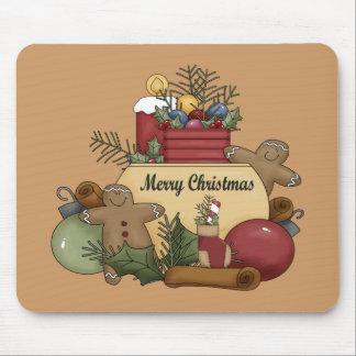 Gingerman Christmas Mouse Pads