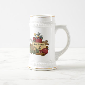 Gingerman Christmas Coffee Mugs