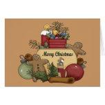 Gingermen Christmas Greeting Card