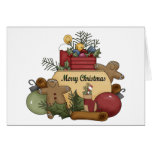 Gingermen Christmas Greeting Cards