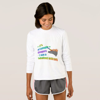 Gingers are fabulous unicorns T-Shirt