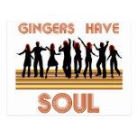 Gingers have Souls Train Postcard