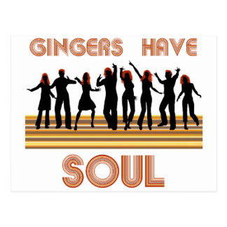 Gingers have Souls Train Postcard