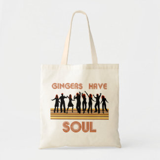 Gingers have Souls Train Tote Bag