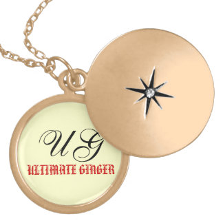 Gingers Only Locket Necklace