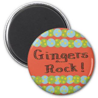 """Gingers Rock"" Magnet Magnets"
