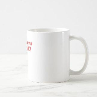 Gingers Rock Classic White Coffee Mug
