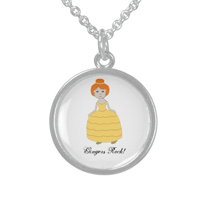 """""""Gingers Rock!"""" Necklace"""