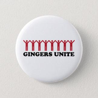 Gingers Unite Button