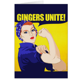 Gingers Unite Card