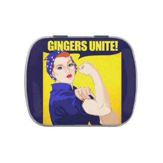Gingers Unite Jelly Belly Tin