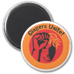 Gingers Unite! Magnet