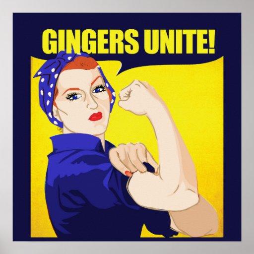 Gingers Unite Print