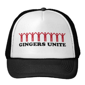 Gingers Unite Trucker Hat