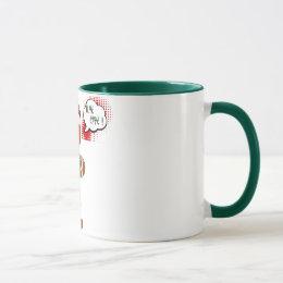 gingersnap cookie christmas holiday mug design