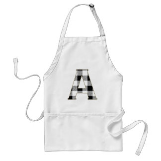 Gingham Check A Adult Apron