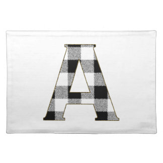 Gingham Check A Placemat