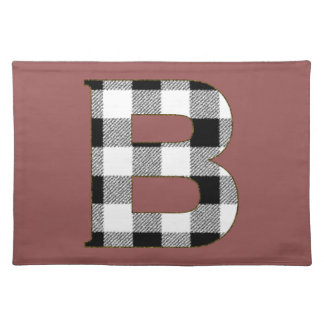 Gingham Check B Cloth Placemat