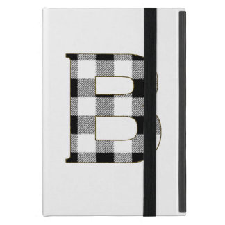 Gingham Check B Cover For iPad Mini
