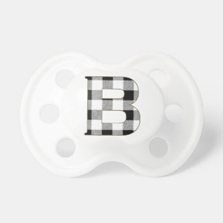 Gingham Check B Pacifier