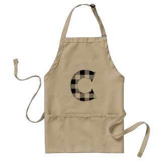 Gingham Check C Adult Apron