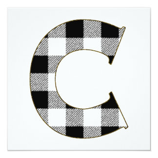 Gingham Check C Card