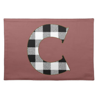 Gingham Check C Cloth Placemat