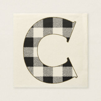 Gingham Check C Napkin