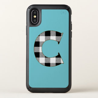 Gingham Check C Speck iPhone X Case