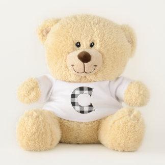 Gingham Check C Teddy Bear