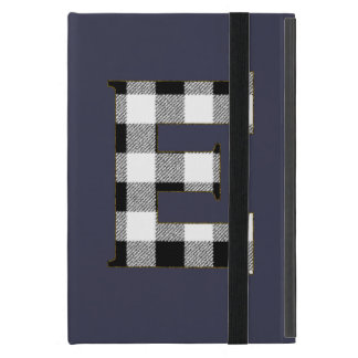 Gingham Check E Case For iPad Mini